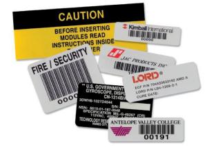Foil-Bar-Code-Labels