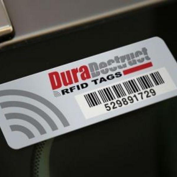 DuraDestruct RFID Tags - Glass 1
