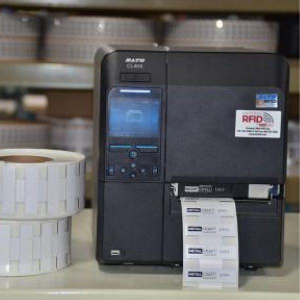 Universal On Site Printable Mini RFID Tag