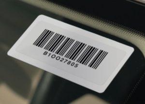 RFID On Site Printable Windshield Tags 1