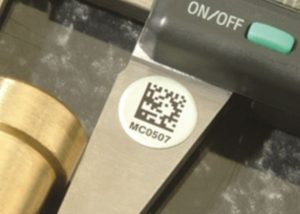 Foil 2D Round Metal Tags 1