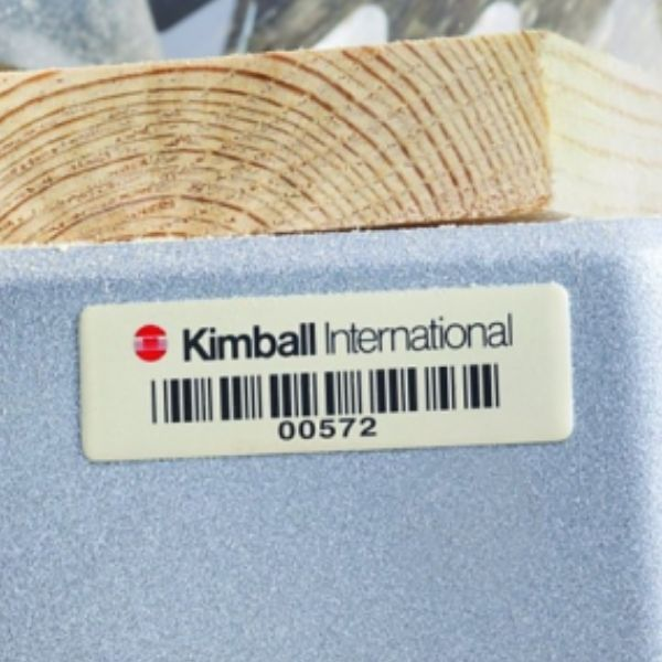 Foil Barcode Tags 1