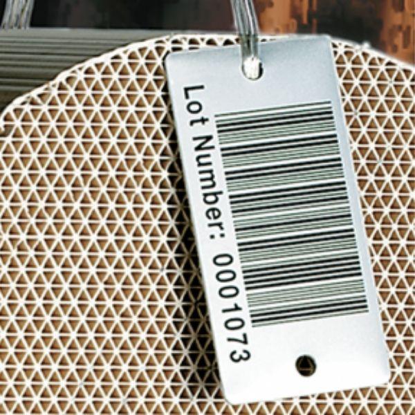 High Temperature Metal Barcode Tags 1